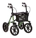 Dietz Taima XC Outdoor Rollator PU-bereift 150 kg belastbar 8,2 kg Leichtgewichtrollator Geländerollator