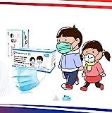 50 Chirurgische Masken für Kinder - 3-lagige Einwegmasken - CE-gekennzeichnet - Typ II - Norm EN14683:2019 + AC:2019-3 Windeln - Polypropylen - Medizinisches Gerät